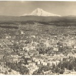 View of Mt. Hood and Portland 